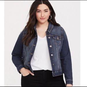 Torrid Blue Denim Jean Jacket Size 1 or 14/16